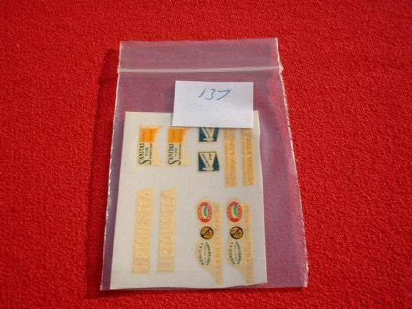 Matchbox / Lesney / Yesteryear Y12 HORSE BUS TRANSFERS / DECALS